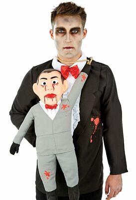 Ventriloquist Creepy Killer Dummy Puppet Costume Halloween Horror Fancy Dress