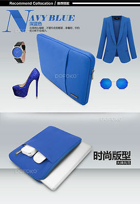 Laptop Soft Sleeve Bag Case Pouch For DELL HP ACER ASUS LENOVO MACBOOK SONY