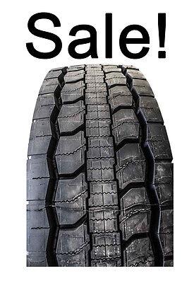 New Goodyear Virgin Rubber G505d 295 75R22 5 Drive Tire 24 32 Depth Oem Fet Paid