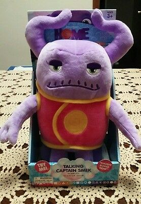 Dreamworks Home Movie Talking Captain Smek Plush Doll - Captain Smek