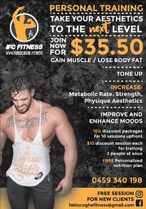 Right now! PT at $35. Book your FREE session now Waterloo Inner Sydney Preview