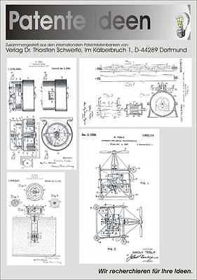 Tesla - 156 Patente , freie  Energie, Haarp  deutsch