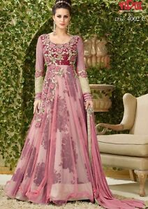 Bollywood indian pakistani designer anarkali shalwar kameez lengha wedding party