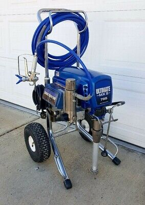 Graco Ultimate Mx Ii 795 Electric Airless Paint Sprayer15951095695
