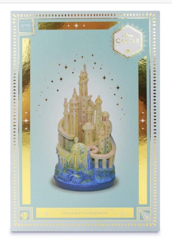 Disney Ariel Castle Collection Ornament 8/10 - Brand New