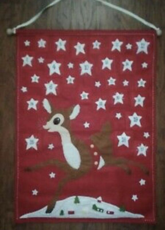 Pottery Barn Kids Christmas CLASSIC RUDOLPH RED NOSED REINDEER Advent Calendar