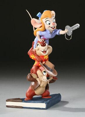 Electric Tiki-CHIP & DALE-RESCUE RANGERS mini-maquette/statue. RARE #1 EXCLUSIVE
