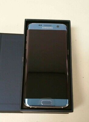 Samsung Galaxy S7 edge SM-G935 - 32GB - Blue Coral (AT&T) Smartphone