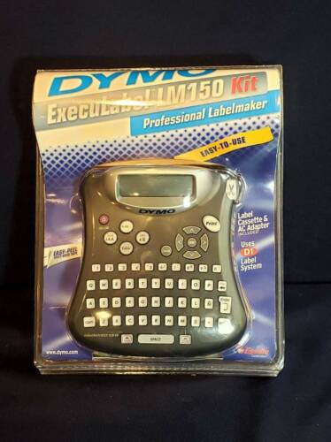 BRAND NEW Dymo Execulabel LM 150 Kit Professional Label Maker