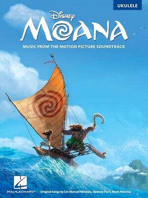 Moana Disney Motion Picture Movie Soundtrack  Ukulele  Uke Sheet Music Song Book