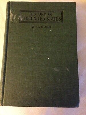 History Of The United States By William C Daub Vintage