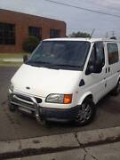 2000 VG Ford Transit Dual Fuel Camper Van with rego and RWC Dandenong Greater Dandenong Preview