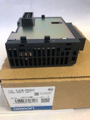 Omron Cj1w-pd022 Power Supply Unit New In Box