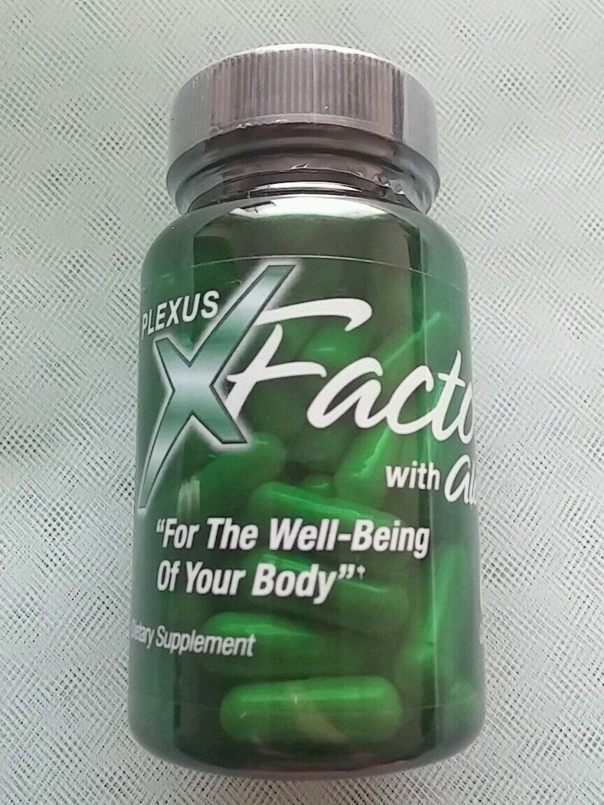 Plexus Slim X Factor With Aloe Vitamins & Antioxidants 60...