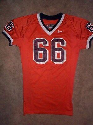 Team Issued Syracuse Orange  66 Ncaa Football Game Jersey Adult Mens Mens  50
