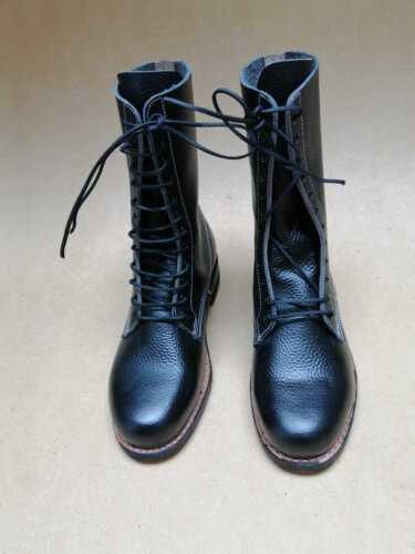 civil war colonial leather sole boots