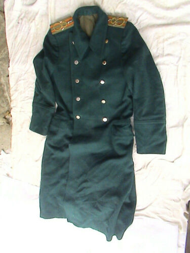 IMPERIAL RUSSIA OFFICER COAT - VERY RARE - BARGAIN !!!