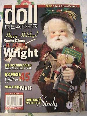 DOLL READER january 2004~doll varieties around the world magazine