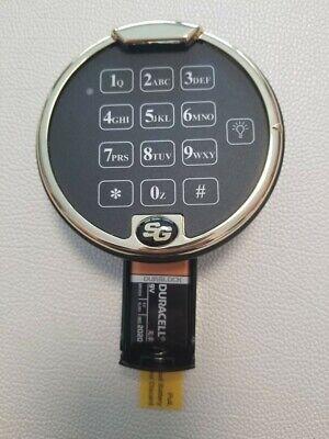 New Sargent And Greenleaf Sg Polished Brass Electronic Keypad For Safe