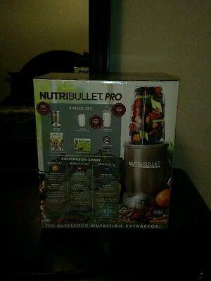NutriBullet Pro 900, 9 Portion Set (BRAND NEW IN THE BOX!!)
