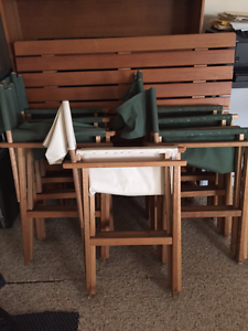 Outdoor Wooden Furniture Set Springwood Logan Area Preview