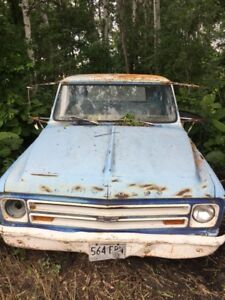 1967 Chevrolet c30 and parts