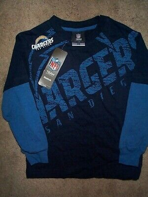 - ($28) San Diego Chargers nfl Football Jersey Shirt YOUTH KIDS BOYS (5-6)