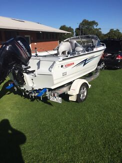 As new 2015 449 Stacer Baymaster
