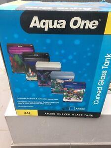 Aqua one AR 380 blue glass fish tank Merrylands Parramatta Area Preview