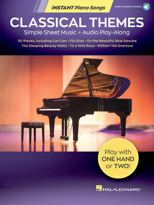 Classical for Two Sheet Music Piano Duet Play-Along Book and CD NEW 000290575
