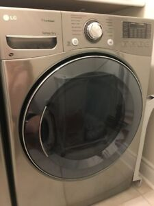 LG dryer 7.4 cubic feet dryer