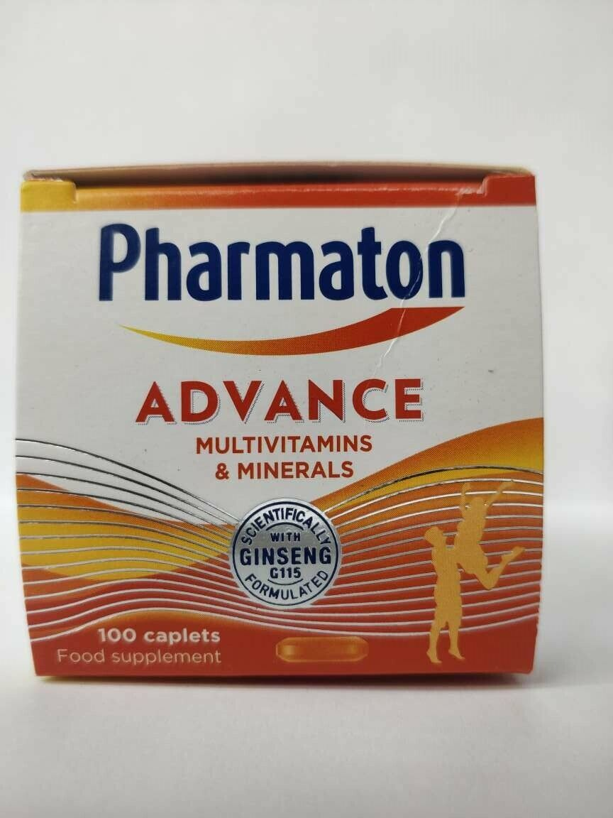 Pharmaton Caplets 100 Caplets (containing Unique Ginseng G115) - FREE SHIPPING 1