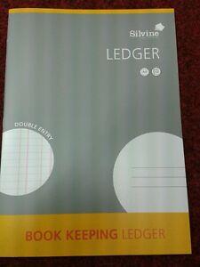 SILVINE A4 ACCOUNTS BOOK KEEPING LEDGER