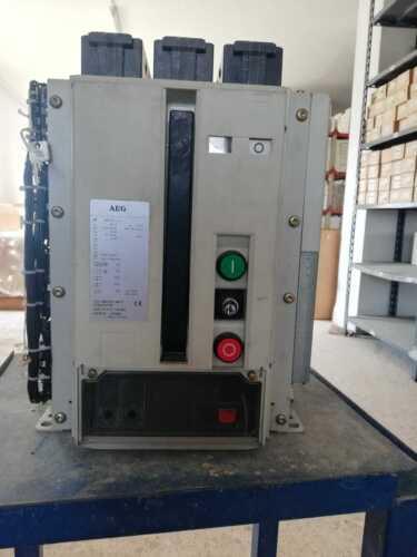 AEG ME07 Air Circuit Breaker ME 1607 S1/III 1600A  3 Pole 55kA