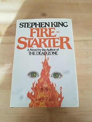 Stephen King signed Firestarter Book