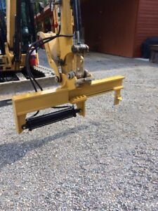 Extreme duty wood splitter for excavator.