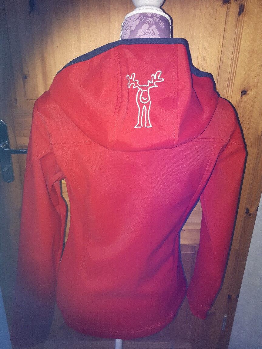 elkline softshell Jacke Damen rot Gr. S sehr guter Zustand