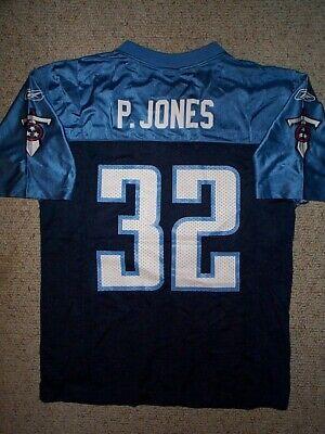 REEBOK Tennessee Titans PACMAN JONES nfl Jersey YOUTH KIDS BOYS (L-LG-LARGE)