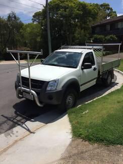 2007 Holden Rodeo Tipper Ute - Auto - AC - Tow Bar - Ladder Racks