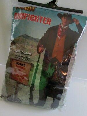 Adult Mens GUNFIGHTER COSTUME Duster COAT & BANDANA OS 2pc NEW Cowboy WESTERN ](Costume Duster Coat)