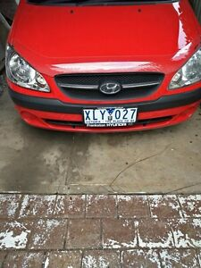 Hyundai Getz 2009 Rwc & Rego Caroline Springs Melton Area Preview