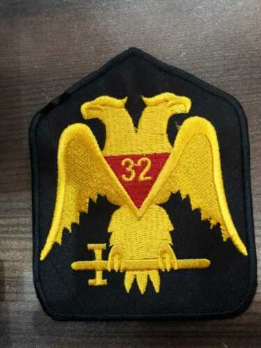 32 Degree Patches,York Rite Patches, SCOTTISH RITE 32 DEGREE Patch,MASONIC PATCH