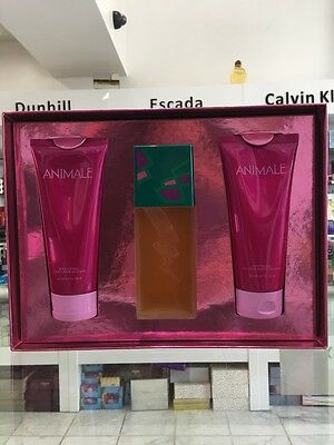 ANIMALE BY ANIMALE PARFUMS GIFT SET EDP 100 ML LOTION 200 ML SHOWER GEL 200 ML Animale Animale Gift Set