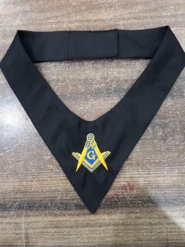 MASONIC MASTER MASON CRAVAT TIE, FREEMASON Cravat Fraternity, MASONIC TIES