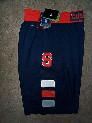 80  Nike Syracuse Orange Basketball Jersey Shorts Adult Mens Mens  Xxl 2Xl
