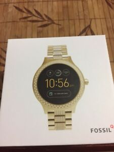 FOSSIL 3 SMARTWATCH - Q VENTURE GOLD-TONE