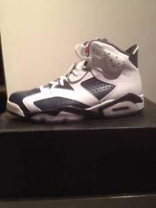 Jordan 6 Navy Blue & White size 12. Deadstock. Boronia Knox Area Preview