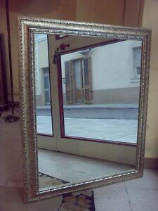 Pz 1 cornice specchiera legno misto oro argento mis ext 72 - Specchio cornice oro ...