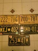Pennsylvania Antique License Plates
