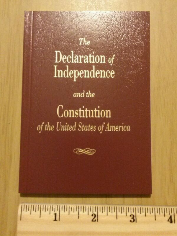 Pocket Size U.S. Constitution & The Declaration of Independence USA